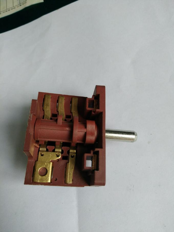 16A 5 8 Position Rotary Switch Change Over Switch Cam Switch for Oven and Stove