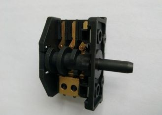 China Knob 6 Position Rotary Switch For Oven / Stove 250V 16A Brass Terminal supplier