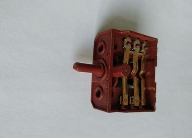 China 10A Oven Rotary Switch 4 / 5 Points 23MM Plastic Shafts PA66 Shell CQC Certificate supplier