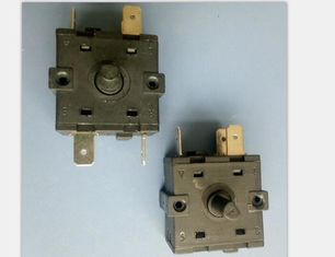 China Fan Heater Oven Rotary Switch 10000 Cycles 2000Vac For Air Cooler / Electric Radiator supplier