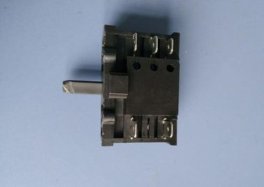 China Micro Rotary Position Switch , Electric Oven Selector Switch Manual Changeover T110 supplier
