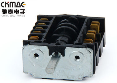 China Bakelite Electronic Rotary Switch , Rotary Stepping Switch For Hot Plate supplier