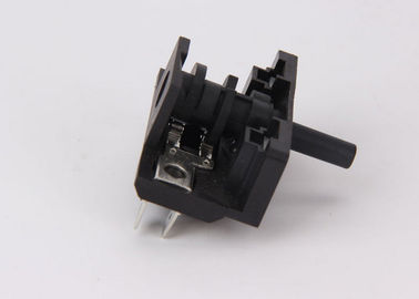 China Double Contact Small Oven Rotary Switch TUV Certificate Plastic Shafts supplier