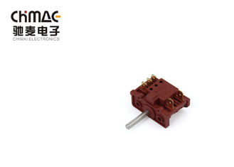 China 100000 times 3 Pole Rotary Switch 4 Speed , Copper 7 Position Rotary Switch supplier