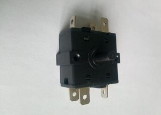 China 3 Pins 5 Position Oven Selector Switch 16A 250V T125 Copper Contacts supplier
