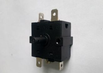 China Sp6t Rotary Cam Switch , 1 Pole Oven Rotary Switch 6 Throw Band Channel supplier