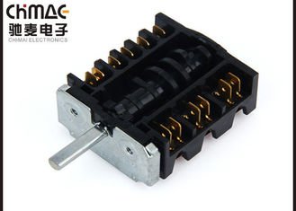 China Freestanding Oven Selector Switch RS Series Stove Parts Ag Alloy Contacts supplier
