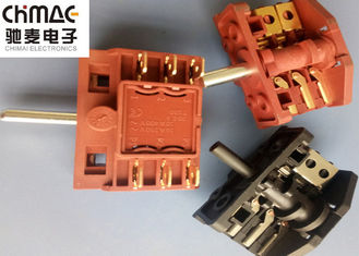 China High Temperture Resistance Oven Selector Switch Heater Electric Brass supplier