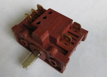 China Stove Copper Electric Oven Switch High Stability 5 - Speed Control CE Pa66 supplier
