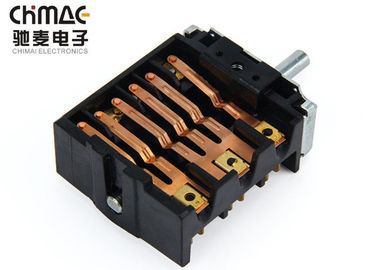 China High Temperture Selector Rotary Switch , Controller Rotary Fan Switch 250V 16A supplier