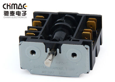 China Bakelite 5 Position Rotary Switch 16A , 250 V Cooker Selector Switch T100 supplier