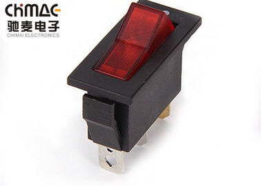 China Hair Dryer Electrical Rocker Switches 10A 250VAC T85 On - Off - On 3 Position supplier