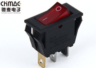 China Carling Bar Custom Led Rocker Switches Mini 3 Pins 6A 10000 Cycles Copper Terminals supplier