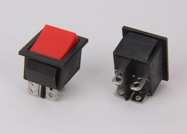 China IP65 Button Boat Rocker Switch NYLON 66 / PC Rating 16A 125VAC To10A 250VAC supplier