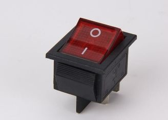 China Dpdt Rocker Switch 6A / 16A , Waterproof Momentary Rocker Switch On - Off - On supplier