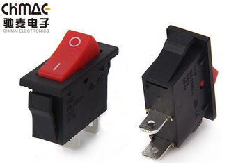 China Led Panel Boat Rocker Switch T85 / 125 2 Pins 10000 Cycles Mechanical Life supplier