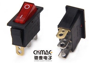 China T85 Series Lamp Rocker Switch Sub - Miniature 4000W 16A 250VAC 3 Pins supplier