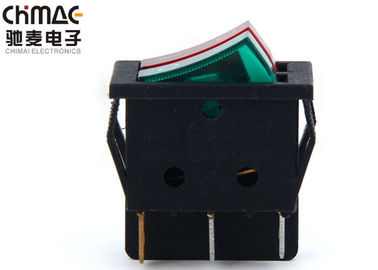 China Automotive 2 Way Rocker Switch , Single Narrow 3 Position Rocker Switch supplier