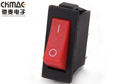 China Marine KCD Rocker Switch Toggle Red / Green / Yellow 10A for vessel / textile supplier