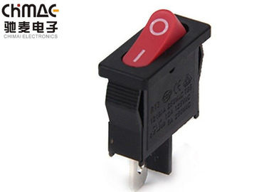 China Copper One Position KCD Rocker Switch 2 Pins Controller For Incubators supplier