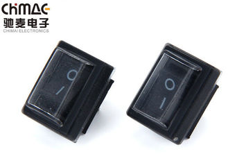 China Waterproof Mini KCD Rocker Switch 2 Pin Power 50mΩ Contact Resistance supplier