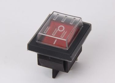 China Power 12A KCD Rocker Switch 2 Position Mini Neon Pushbutton For Telecommunications supplier