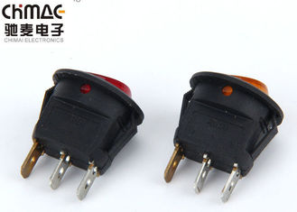 Waterproof Momentary Rocker Switch , Rocker Type Switch 5A Copper Terminals