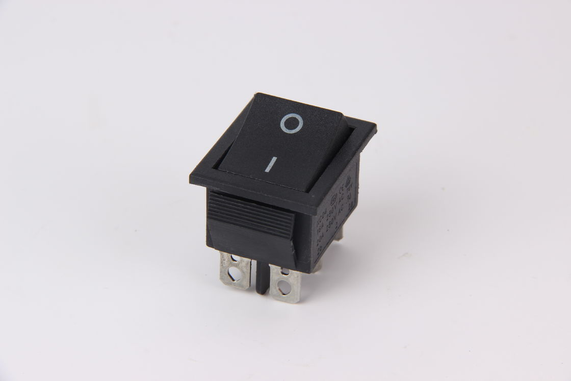 Black Toggle Kcd Rocker Switch Wiring Paddle Waterproof 4 Pins Pc Button