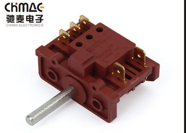 China Red Copper Changeover Rotary Switch Flexible Select 25A 1 - 0 - 2 Easy Wiring factory