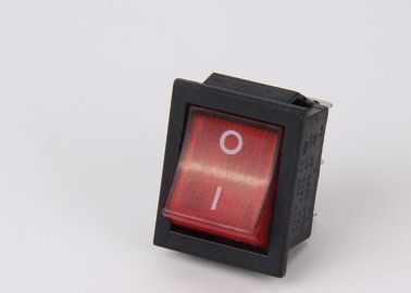 Electric Red Kcd4 Rocker Switch , 25A / 30A LED Marine Rocker Switch